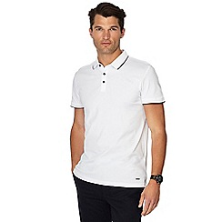 J by Jasper Conran - White tipped polo shirt