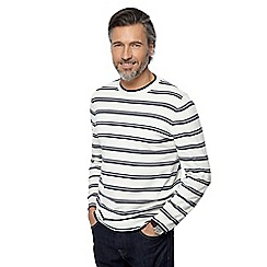 J by Jasper Conran - Natural striped jumper