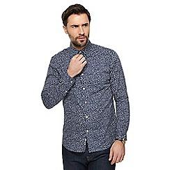 J by Jasper Conran - Navy printed shirt