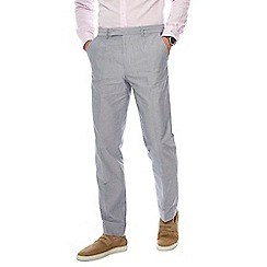 J by Jasper Conran - Grey cotton smart trousers