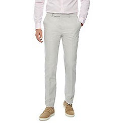 J by Jasper Conran - Natural tailored fit trousers