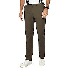 J by Jasper Conran - Khaki slim fit chino trousers