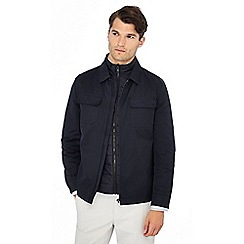 J by Jasper Conran - Navy 3 in 1 Harrington jacket