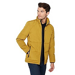 J by Jasper Conran - Gold Quilted Down Jacket