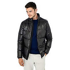 J by Jasper Conran - Black Quilted Down Jacket