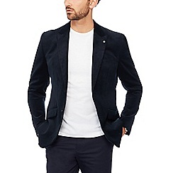 J by Jasper Conran - Big and tall navy corduroy blazer