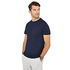 J by Jasper Conran - Navy pique t-shirt