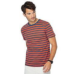J by Jasper Conran - Orange breton stripe t-shirt