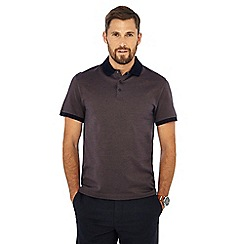J by Jasper Conran - Light brown contrast collar polo shirt