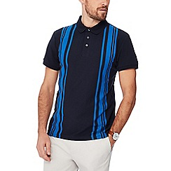 J by Jasper Conran - Navy vertical stripe polo shirt