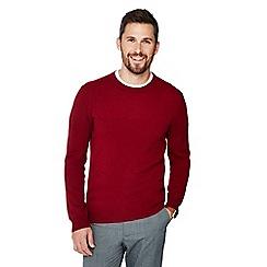 J by Jasper Conran - Red cashmere jumper