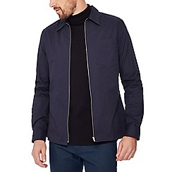 J by Jasper Conran - Navy twill over shirt
