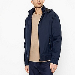 J by Jasper Conran - Big and tall navy 'helix' shower resistant jacket