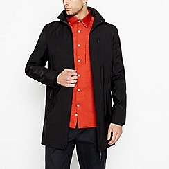 J by Jasper Conran - Big and tall black 'Prato' shower resistant jacket