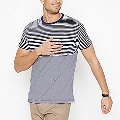 J by Jasper Conran - Blue Graduated Stripe T-Shirt