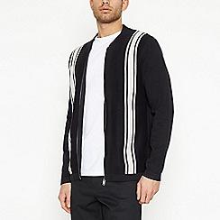 J by Jasper Conran - Navy Vertical Stripe Sweatshirt