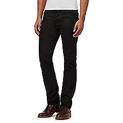 J by Jasper Conran - Designer black straight leg jeans