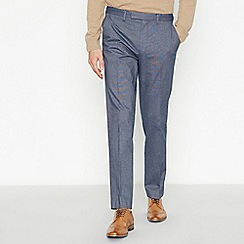J by Jasper Conran - Navy Tailored Fit Trousers