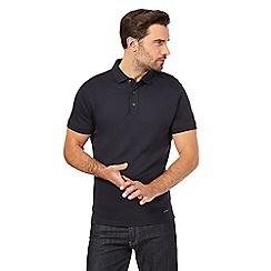 J by Jasper Conran - Navy supima polo shirt