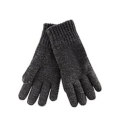 Maine New England - Grey thermal gloves