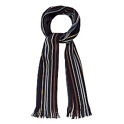 The Collection - Navy stripe scarf