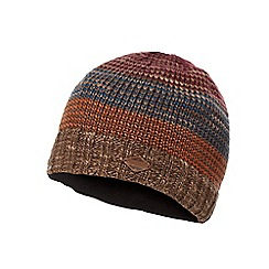 Mantaray - Multi-coloured striped knitted beanie hat