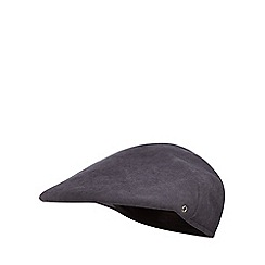 The Collection - Blue moulded flat cap