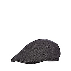 J by Jasper Conran - Grey tweed flat cap