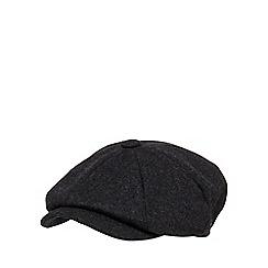 Hammond & Co. by Patrick Grant - Grey wool blend baker boy hat