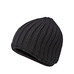 Maine New England - Black knitted thermal beanie