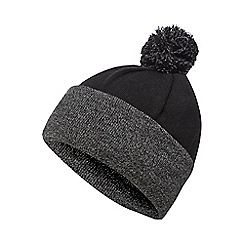 Maine New England - Black thermal bobble hat