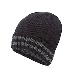 Maine New England - Black 'Thinsulate' beanie hat