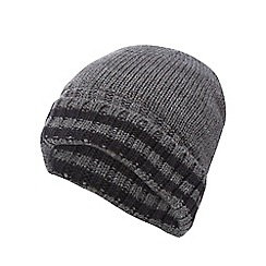 Maine New England - Grey 'Thinsulate' beanie hat