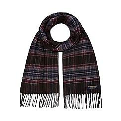 Hammond & Co. by Patrick Grant - Grey checked scarf
