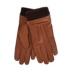 Hammond & Co. by Patrick Grant - Tan leather gloves