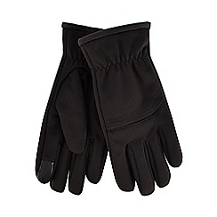 Maine New England - Black thermal touch screen gloves