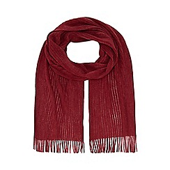 Red Herring - Red knitted scarf