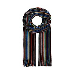 The Collection - Multicoloured striped scarf