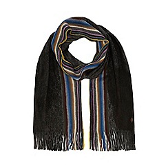Mantaray - Grey side stripe scarf