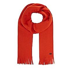 J by Jasper Conran - Orange merino wool scarf