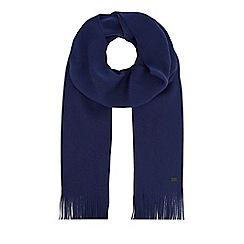 J by Jasper Conran - Blue merino wool scarf
