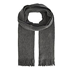J by Jasper Conran - Grey merino wool scarf