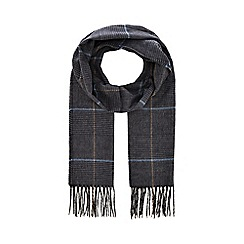 Hammond & Co. by Patrick Grant - Grey 'Prince of Wales' check scarf