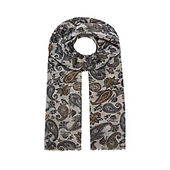 Hammond & Co. by Patrick Grant - Multicoloured paisley print dress scarf