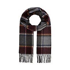 838309b9708 Hammond   Co. by Patrick Grant - Grey college check scarf