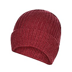 c876384a366 Red Herring - Red knitted beanie hat