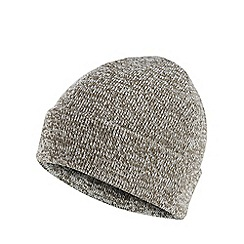 Red Herring - Khaki twist knit beanie hat