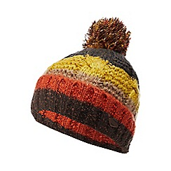Mantaray - Yellow striped knit bobble hat