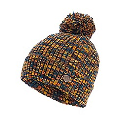 Mantaray - Multicoloured twist knit bobble hat