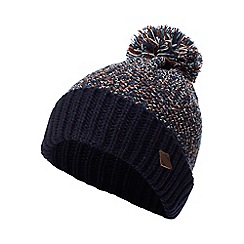Mantaray - Navy twist knit bobble hat
